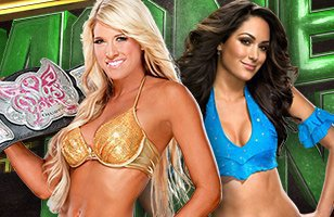 Money in the Bank 2011 ~ Kelly Kelly vs BRIE BELLA, Divas Championship