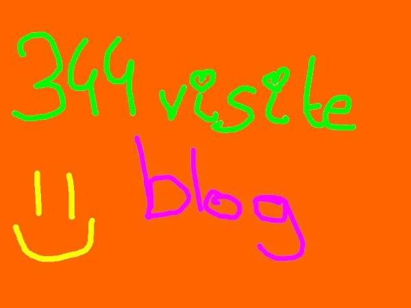 344 Visites blog, sa se fête