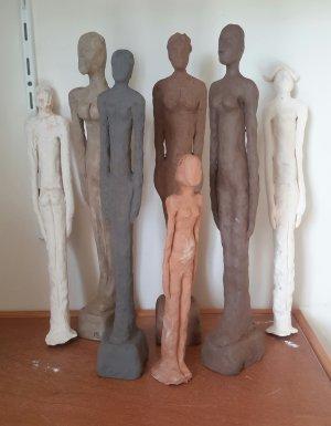 inspirés de Giacometti.... par l'atelier d' ESPACE LOISIRS