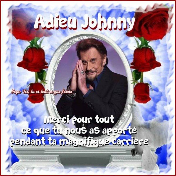 Johnny on ne t'oubliera jamais 💔💔