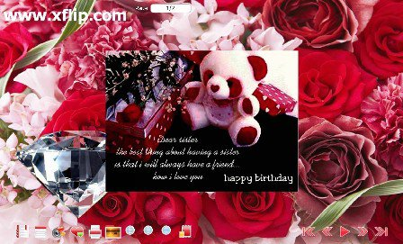 How to Make 3D Animated Birthday ECard flippingpagesoftware – E Birthday Cards Animated