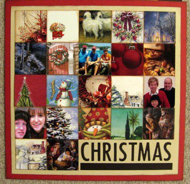 How to Create Christmas Scrapbook Pages