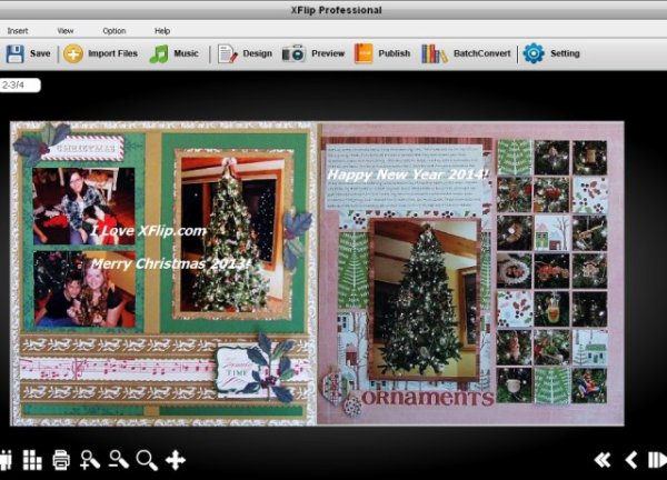 How to Create Christmas Online Scrapbooking Cards