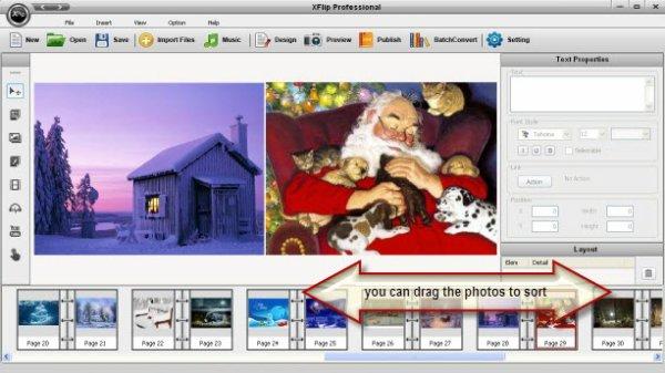 How to Make Christmas Flash Album Online