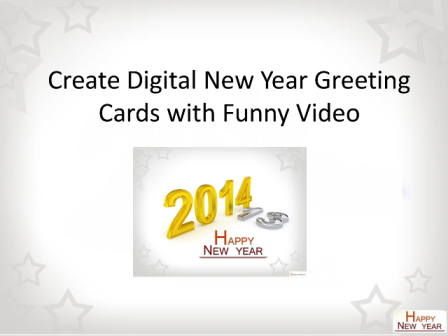 How to Create Happy New Year Greeting Ecards
