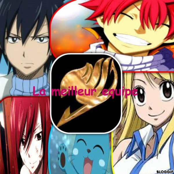 La meilleur equipe de Fairy Tail