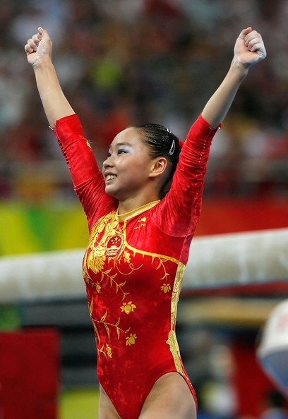 Deng Linlin ( Gymnaste Chinoise)