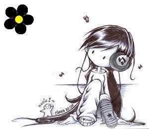 Parfois, t'écoutes une chanson tellement souvent qu'elle finit par devenir comme la bande originale de ta vie ( ♫ ♥ ) .