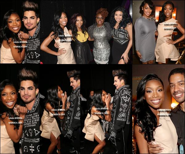 .16/12/12 :  Brandy était à la cérémonie « VH1 Divas » en partenariat avec la chaîne pour récompensé les divas. + Lors de la soirée - Jordin Sparks - Melonie Fiona - Ledisi  on tenu un hommage à la diva Whitney Houston. [Voir la vidéo].