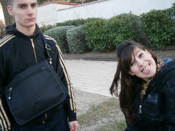 Moi &le frère <3