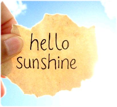"""""""Laissons entrer le soleil, la terre vous dit : hello ! """" Charlie et la Chocolaterie"""