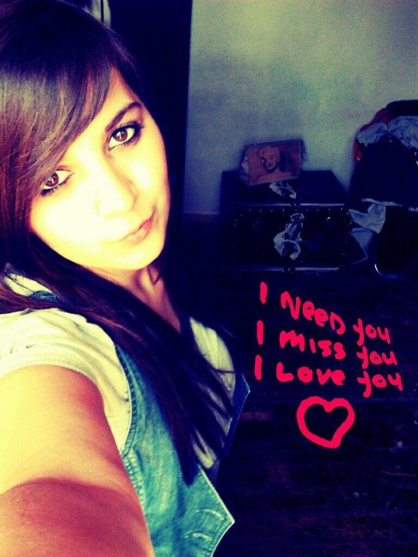 * I love you *