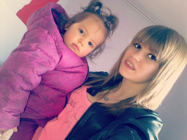 Ma niéce et moi ;)
