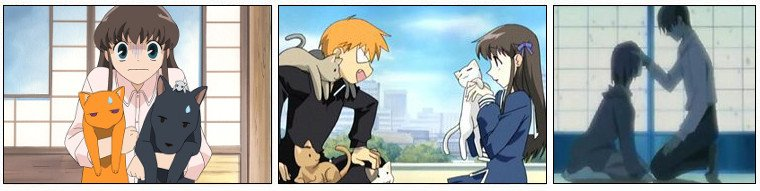 Animation Japonaise ❖  Fruits Basket