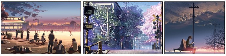 Animation Japonaise ❖  Byousoku 5 Centimeter