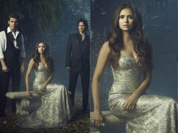 Une magnifique Photo promotionelle de Nina, Ian & Paul, pour la 4ème Saison de Vampire Diaries