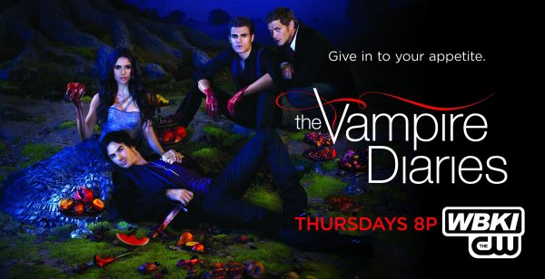 Affiche promotionnelle de Vampire Diaries & Secret Circle