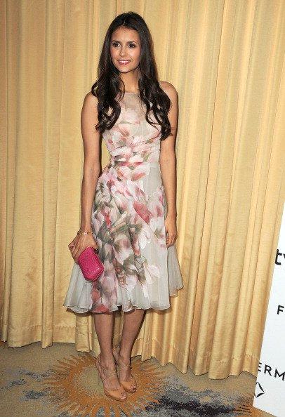 """10/01/2012 Nina était présente à l'événement """"A Promise Of Beauty And Brilliance"""" organisé par Forevermark et InStyle"""
