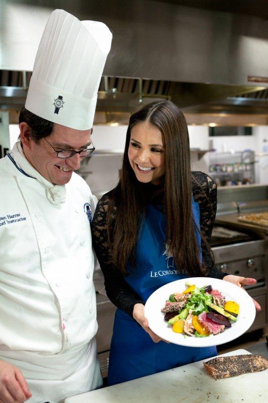 14/01/2012 Nina a fêtée son 23ème Anniversaire au Cordon Bleu Collège des Arts Culinaires avec Ian, Candice, Joseph, Steven & Zach qui ont appris a préparé des bon petit plats