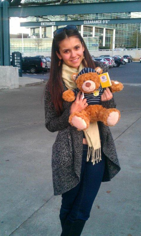 18/01/2012 La mère de Nina a twitter : Je veux partager quelque chose de très spécial qui m'a ému aux larmes. Nina a recus une lettre ...