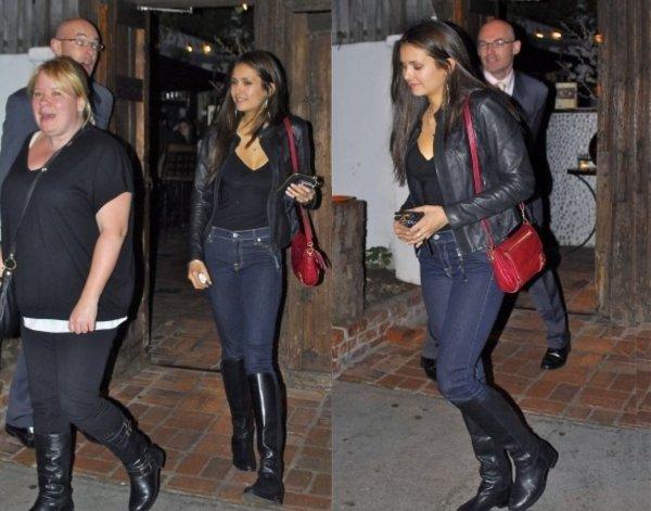 02/02/2012 Nina était a Hollywood avec Julie Plec