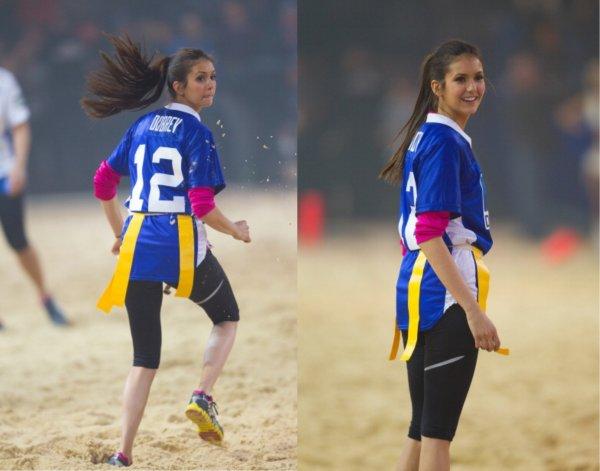 """04/02/2012 Nina & Candice était au """"6éme Annuel Celebrity Beach Bowl"""" organisé par DirecTV"""