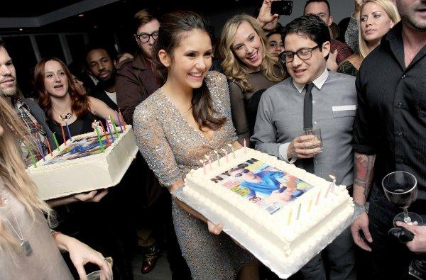 11/02/2012 Nina a encore été vu a la soirée organisée par Nylon et Got2B