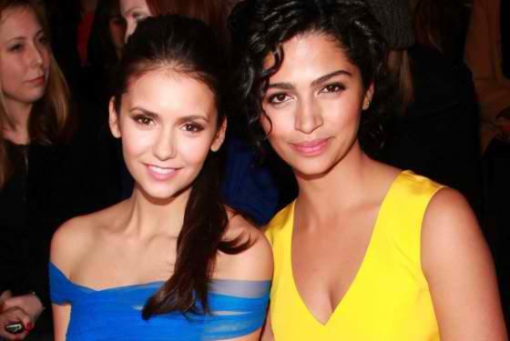 12/02/2012 Nina a twitter : Femme magnifique et une belle personne ... J'ai adoré rencontrer et accrocher avec vous @camilaalves