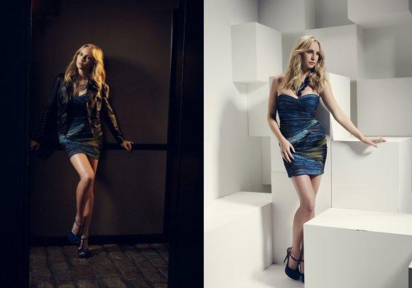 Un Photoshoot de Candice, Kat, Joseph & Michael pour les Saison 3 & 4 de TVD