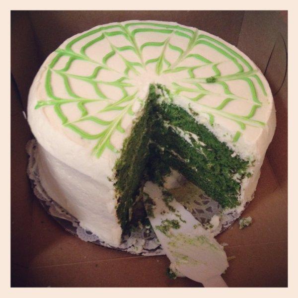 16/03/2012 Nina a twitté : TGIF! Bonne St Patrick weekend :)