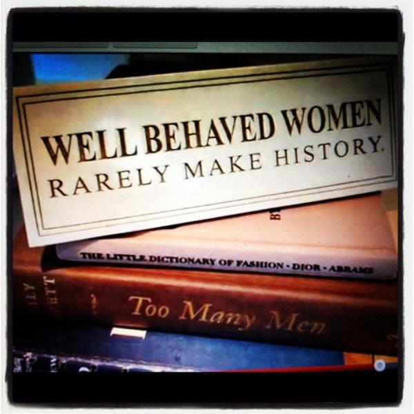22/03/2012 Nina a twitté : C'est vrai, hahaha. Citation Photo Du Jour: l'inspiration de Judith March
