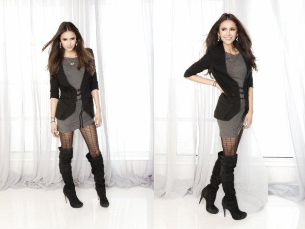 Photoshoot de Nina pour le magazine TV Guide réalisées en Novembre 2011