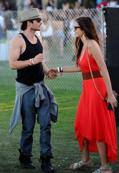 15/04/2012 Le lendemain Nina & Ian étaient toujours au festival