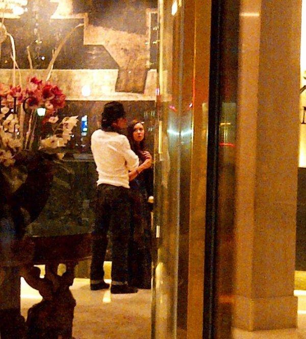 04/05/2012 Nina & Ian visitaient l'église Sagrada Familia à Barcelone en Espagne