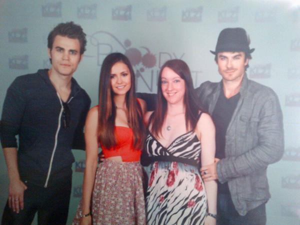"05/05/2012 Nina, Ian, Paul, Michael & Matt étaient à la convention ""Bloody Night Con"""