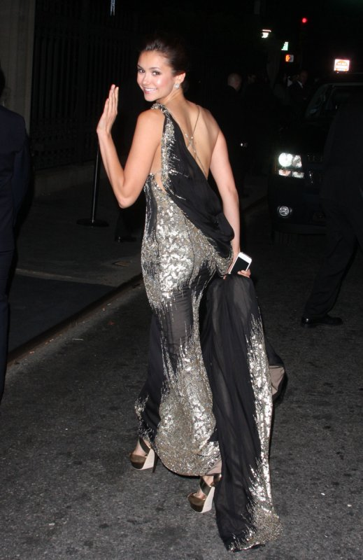 07/05/2012 Nina était au MET Gala & a l'after party organisée par Schiaparelli & Prada