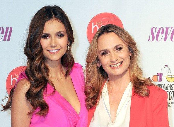 """10/05/2012 Nina & Michaela ont fais le lancement de """"Like Her, Like Me"""" du programme """"GotMilk?"""""""