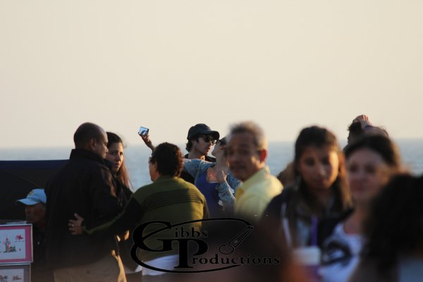 20/06/2012 Nina & Ian était a Santa Monica, en Californie