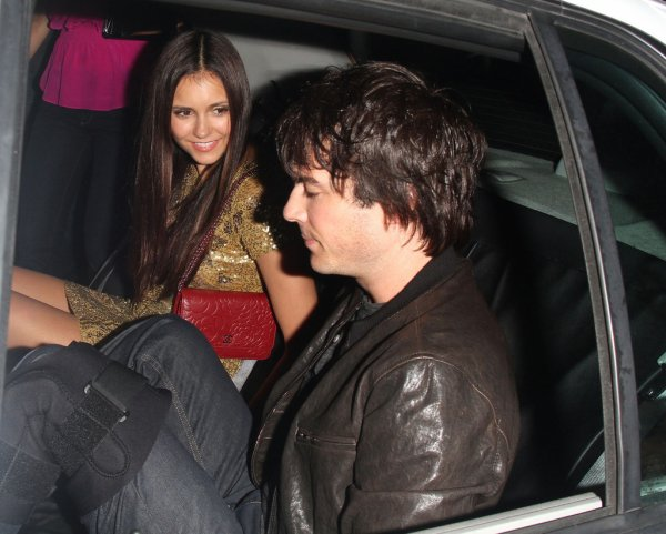 "13/07/2012 Nina & Ian quittant le ""Hard Rock Cafe"""
