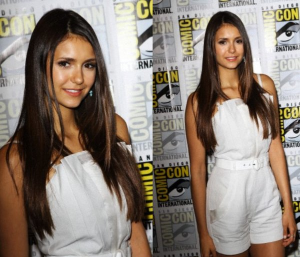 "14/07/2012 Nina était a la ""Press Line"" au Comic-Con a San Diego"