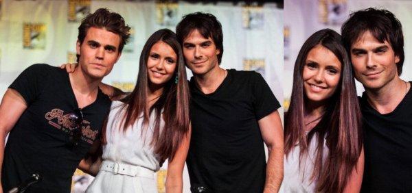 14/07/2012 Nina & le Cast de Vampire Diaries étaient au Panel du Comic-Con