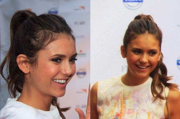 09/09/2012 Nina était à la Variety Studio présenté par la marque Moroccanoil au Holt Renfrew Toujours pour les TIFF
