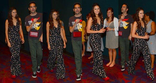 """15/09/2012 Nina était au Atlanta Screening pour promouvoir son film """"The Perks Of Being a Wallflower"""" au Cinéma"""