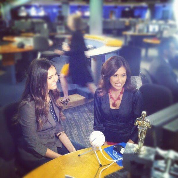 27/09/2012 Nina était a l'émissions Fox11′s au Good Day La