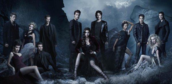 Une superbe photo promotionnelle pour le Saison 4 de Vampire Diaries