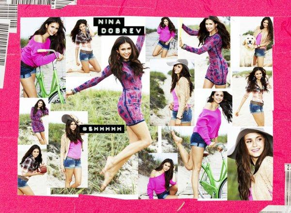 """Nina est en couverture dans la magazine """"Self"""" du mois de novembre"""