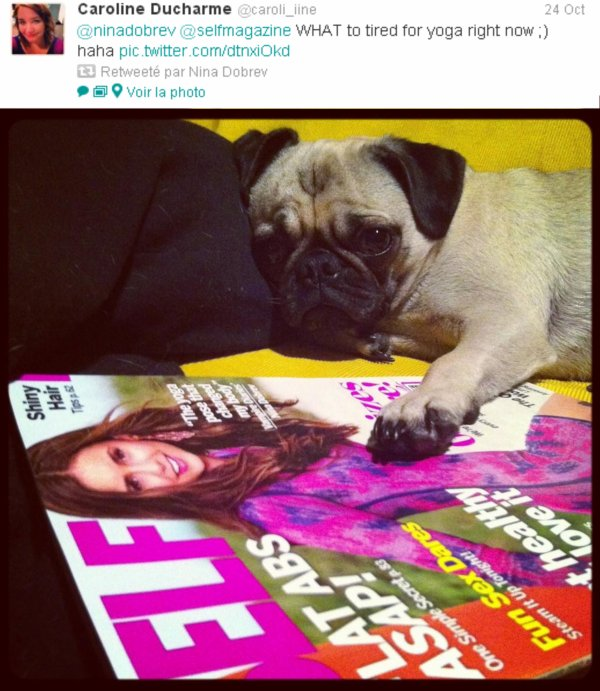 Nina a retweeté : L'actrice @NinaDobrev a semblé élégante dans un morceau de Vera RTW du printemps  2013 à Elle's 'Women in Hollywood' événement.