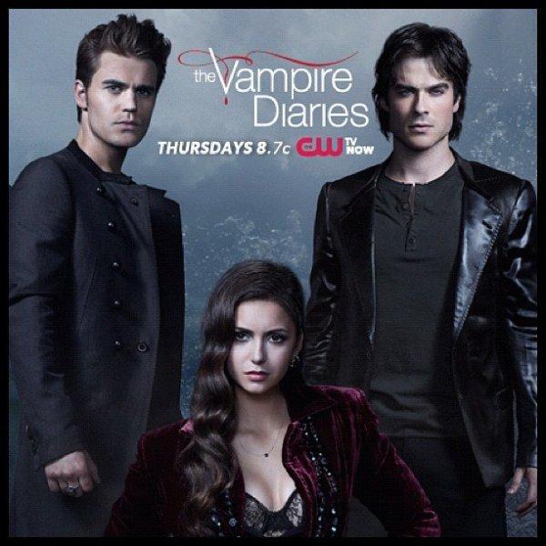 Une nouvelle affiche promotionnelle de Vampire Diaries Saison 4