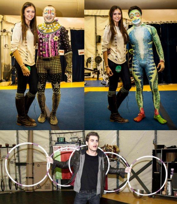 """09/11/2012 Nina & Paul ont visités le Cirque du Soleil """"Totem"""" a Atlanta"""