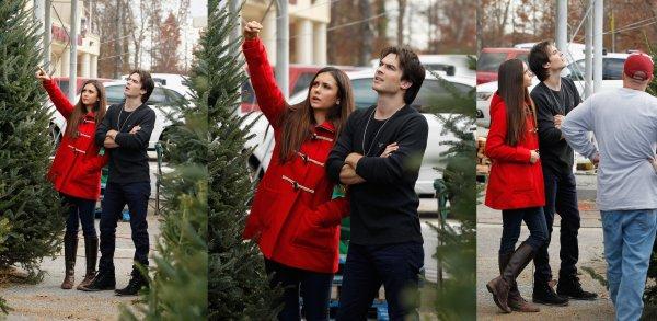 03/12/2012 Nina & Ian étaient a Atlanta pour acheter un sapin de Noël